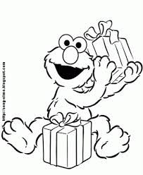 Small Picture Elmo Coloring Pages for kids at the party Elmo Party Ideas