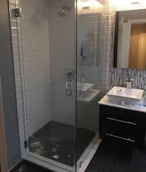 all shower enclosures doors sold in the usa have to pass stringent testust be made with toughened safety glass