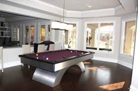 visions furniture. Furniture: Purple Pool Table In A Family Room Visions Furniture