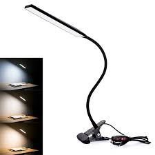 Dimmable Clip Light Details About Clip On Lamp Usb Gooseneck Desk Bedside Reading Book Lamp Led Dimmable Light