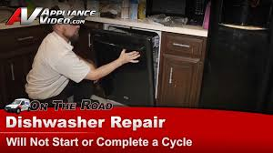 Maytag Dishwasher Cancel Drain Light Blinking Maytag Dishwasher Repair Will Not Start Or Complete A Cycle Mdb6769pab0