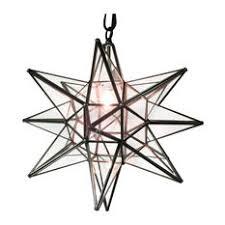 star pendant lighting. Quintana Roo Moravian Star Light Clear Glass With Dark Trim 19 Pendant Lighting