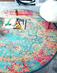 teal round area rug 6 outdoor blue x palazzo rugs 4x6 teal round area rug