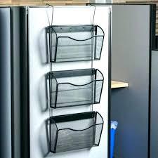 metal wall file organizer mounted folder holder