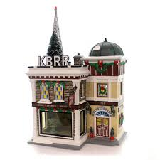 Department 56 City Lights Christmas Trimmings Dept 56 Buildings Kbrr Tv Ceramic Christmas Snow Village