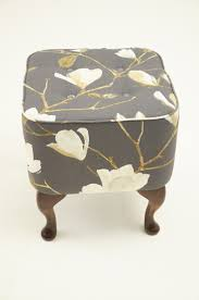 Bespoke Footstools Pouffes Asnew Upholstery Pertaining To Footstools And  Pouffes (Image 3 of 15)