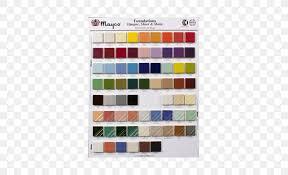Color Chart Underglaze Ceramic Glaze Png 500x500px Color