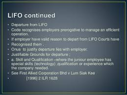 first allied corporation redundancy retrenchment and separation