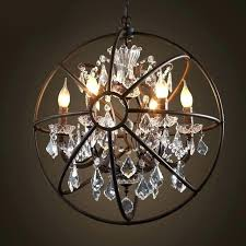 crystal orb pendant light lights over island or not canada elk 5 light crystal orb