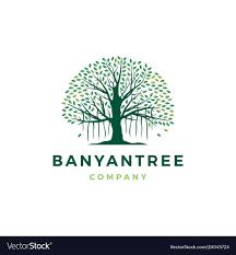 Banyan Tree Logo Design Banyan Tree Logo Icon