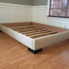 King or Cal King upholstered platform bed from lilykayy on Etsy
