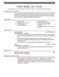8 Professional Senior Manager Executive Resume Samples
