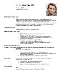 Ejemplo De Curriculum Vitae En Medicina Resume Pdf Download
