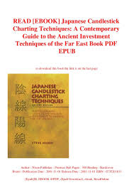 Japanese Candlestick Charting Techniques By Steve Nison Read Ebook Japanese Candlestick Charting Techniques A