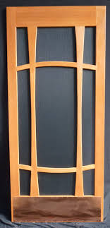 why choose a wooden screen door mountain view woodworks