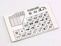 dash fuse box diagram card vw beetle 98 10 1c0 010 232 k image is loading dash fuse box diagram card vw beetle 98