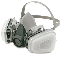 as for a respirator get something like this