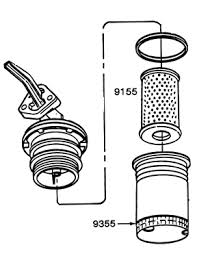 64 73 mustang other fuel 1966 67 fuel filter assembly for 1966 289 carb inlet 1967 hipo 289