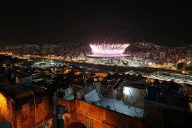 best photos from the rio olympic games com opening ceremonies of the rio olympic games viewed from manguiera favela