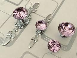 crystal furniture knobs. Pink Glass Dresser Knob Pull Crystal Drawer Knobs Pulls Handle Silver Chrome Rhinestone Kitchen Cabinet Door Furniture V