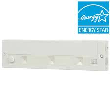 Juno Led Under Cabinet Lighting Juno 12 In White Led Dimmable Linkable Under Cabinet Light