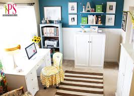 Sewing Room Home fice Reveal Positively Splendid Crafts