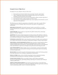 5 Accounting Resume Objective Statement Statement Synonym