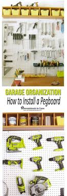 Tools For Diy Projects Best 25 Diy Garage Storage Ideas On Pinterest Tool Organization