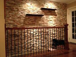 interior stone veneer home depot faux wallpaper wall ideas accent thin panels rock walls design cool