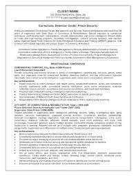 Correctional Officer Job Description Resume Beautiful Police Resume Adorable Military Police Description For Resume