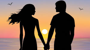 Boy And Girl In Love Sunset Wallpapers ...