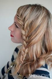 Hairstyle Braid howto lace braid hairstyle tutorial 8026 by stevesalt.us