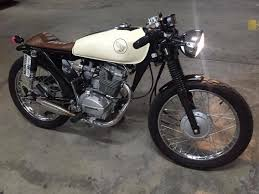 bike feature honda tmx 125 cafe racer by wild customs from las