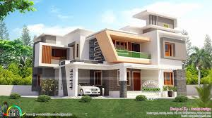 contemporary home design plans new modern kerala style house plans