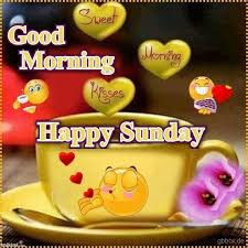 good morning happy sunday