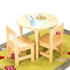 small table and chair sets solid wood children small round table baby table chair set kindergarten