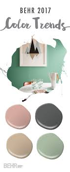Trendy Paint Colors For Living Room Soft Neutrals Get A Trendy Spin Thanks To The Behr 2017 Color