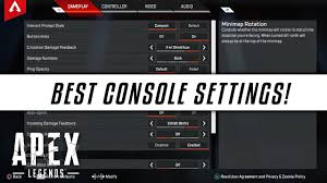 APEX LEGENDS Best Settings For Console ...