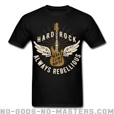 Rebellious One Size Chart Hard Rock Always Rebellious Lets Make Some Noise
