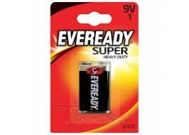 <b>Батарейка</b> Eveready <b>Super</b> Heavy Duty 9V/<b>6F22</b> FSB1(крона), КВЦ ...