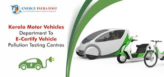 kerala motor vehicles department to e certify vehicle pollution testing centres