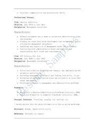 resume consultant resume