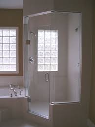Glass Block Window In Shower Glass Block Windows And Shower Advantage Homes Corp 2884 by xevi.us