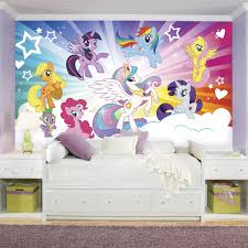 Awesome Brighten Up Your Little Girlu0027s Room With This Multi Colored My Little Pony  Cloud XL