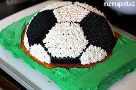 How To Decorate A Soccer Ball Cake My Soccer Ball Cake MomSpotted 97