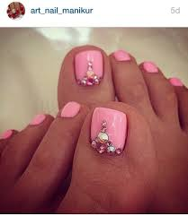 Cute Pedicure Designs Cute Pedicure Design In 2019 Cute Toe Nails Toe Nails