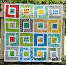Quilt Inspiration: Free pattern day: Baby quilts ! (part 1) & Jungle+Path+baby+quilt+-2%2C+modabakeshop.com.jpg Adamdwight.com