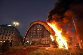 Burning <b>down</b> a <b>rainbow</b> in Poland | Opinions | Al Jazeera