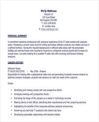 25 Executive Resumes In Pdf Sample Templates