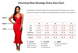 What Is Bust In Size Chart Size Chart Charming Wear